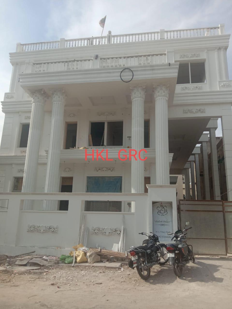 GRC Elevation work at Banipark Jaipur